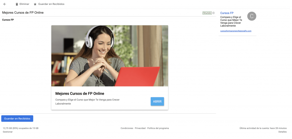 emails-patrocinados-google
